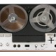 Retro European Open Reel Tape Recorder deck